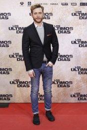 El actor Pablo Rivero en la premiere de 'Los últimos días'