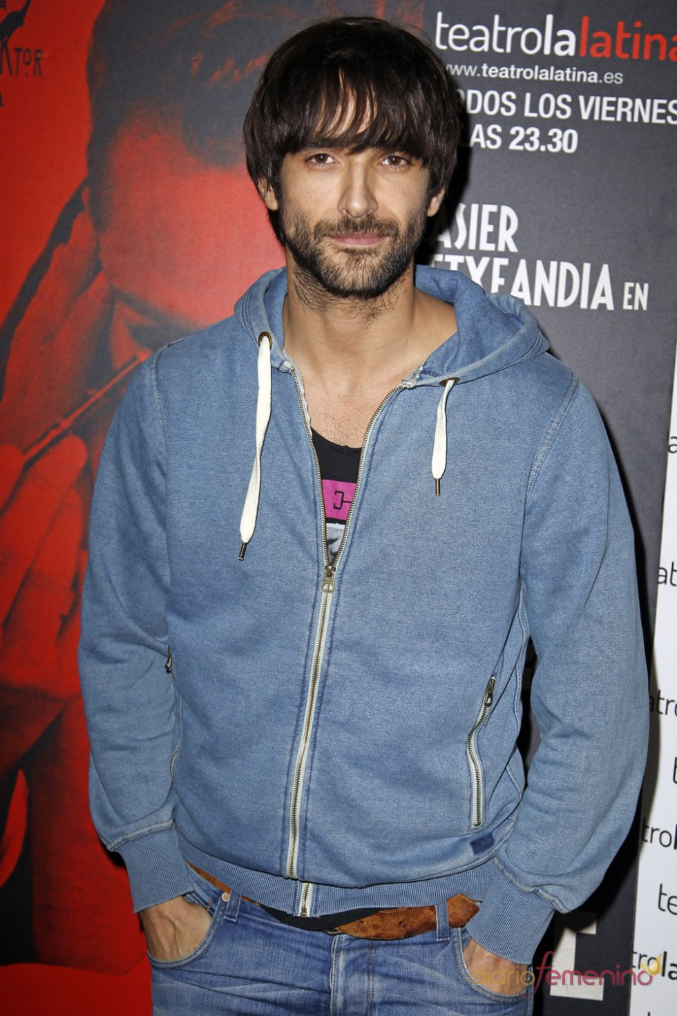 Aitor Luna en el estreno de 'El Intérprete'