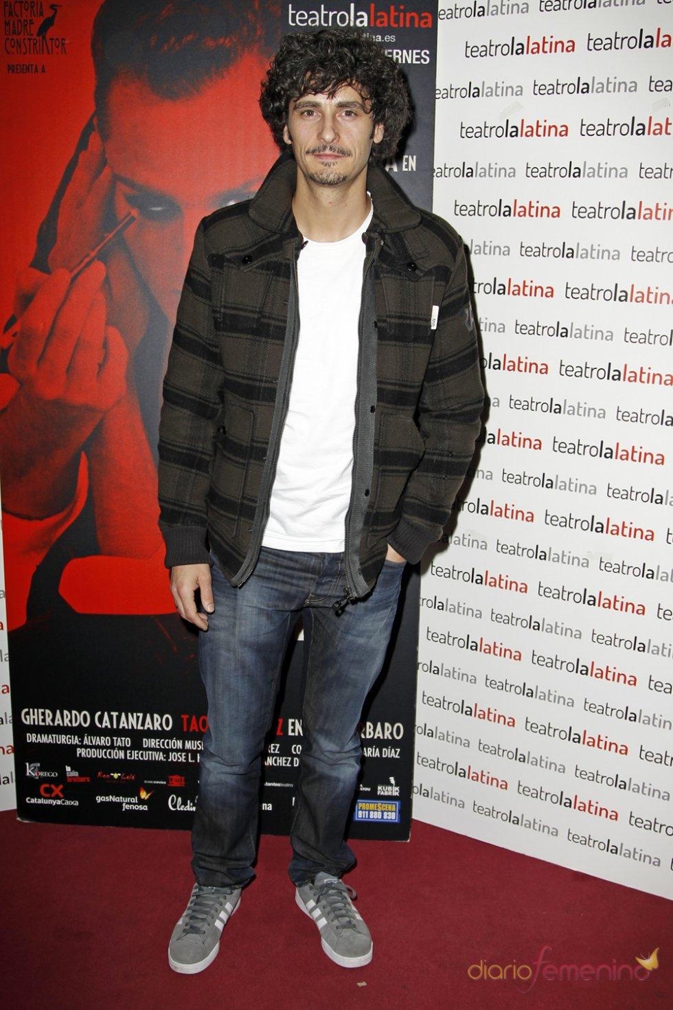 Antonio Pagudo en el estreno de 'El Intérprete'