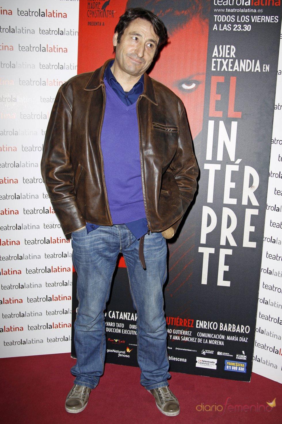 Carmelo Gómez en el estreno de 'El Intérprete'