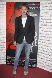 Eloy Azorín en el estreno de 'El Intérprete'