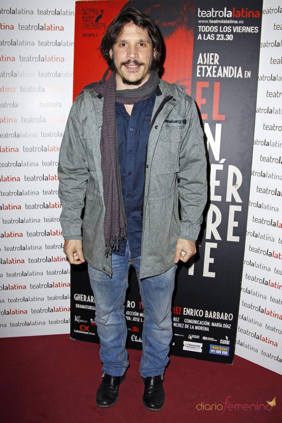 Sergio Peris en el estreno de 'El Intérprete'