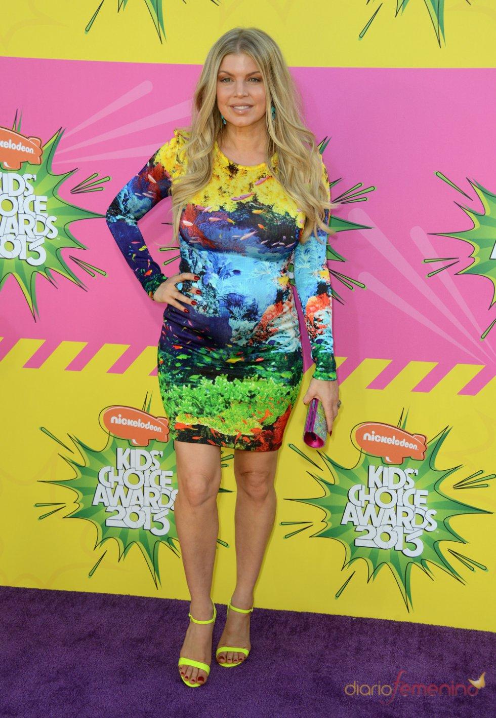 Fergie en los Kids' Choice Awards 2013