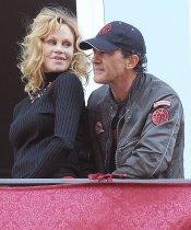 Famosos en la Semana Santa 2013: Antonio Banderas y Melani Griffith