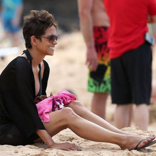 Famosos en la Semana Santa 2013: Halle Berry