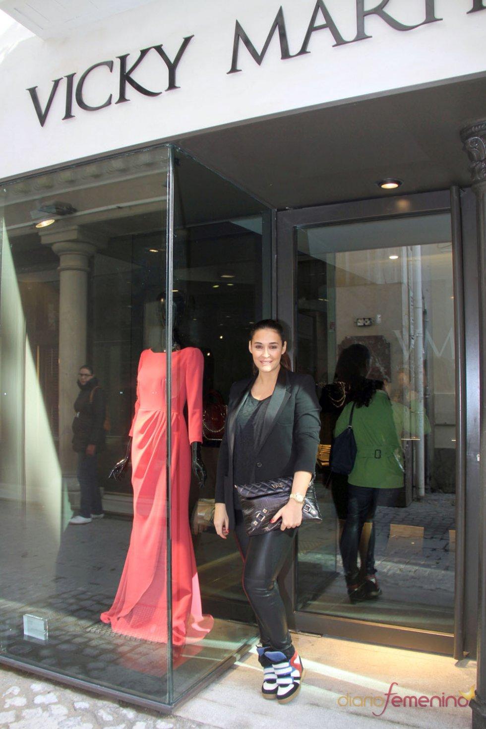 Vicky Martín Berrocal inaugura su tienda de novias