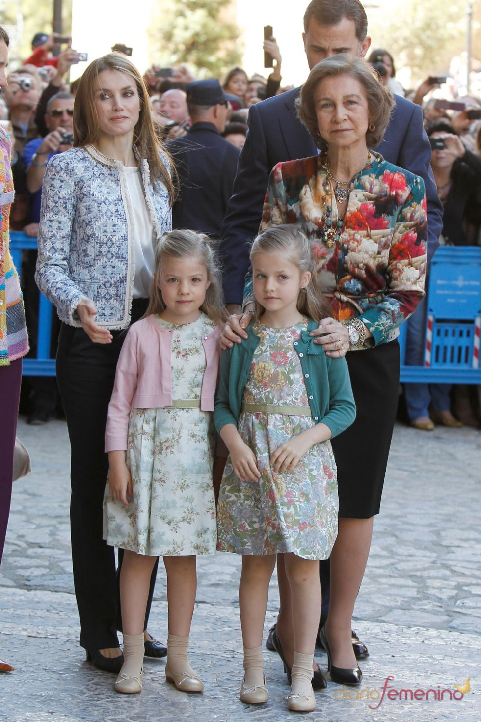 La Reina Sofía, la perfecta abuela en la Pascua de la Semana Santa 2013