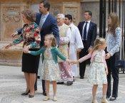 La Familia Real, en la Pascua de la Semana Santa 2013