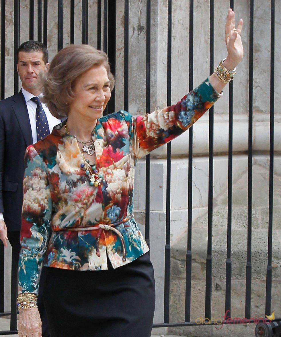 La Reina Sofía, en la Pascua de la Semana Santa 2013