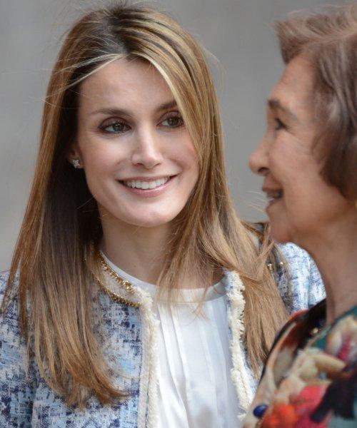 Letizia y la Reina Sofía, en la Pascua de la Semana Santa 2013