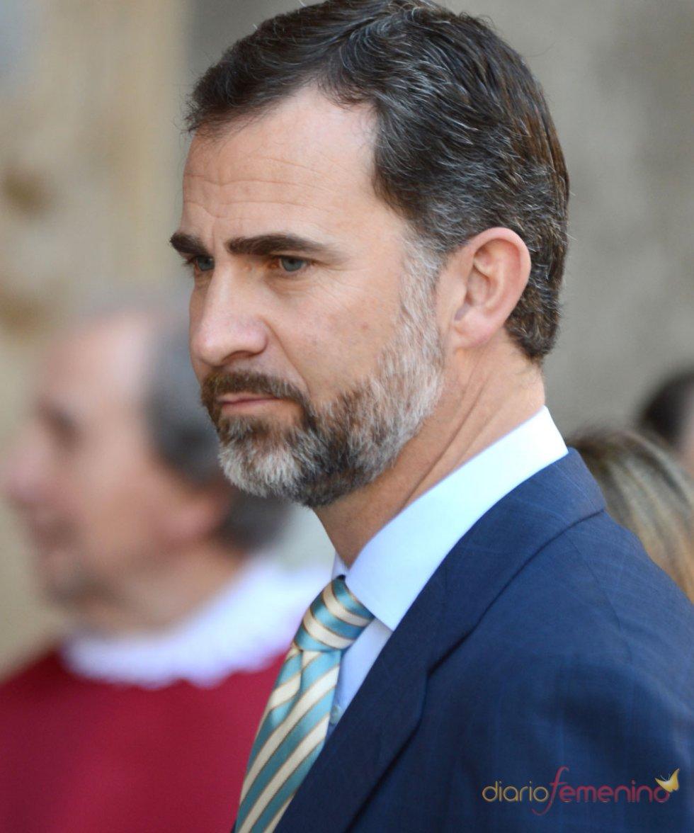 El Príncipe Felipe, el único hombre en la Pascua de la Semana Santa 2013