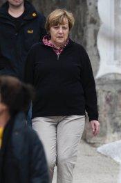 Angela Merkel disfruta de la Semana Santa 2013 en Italia