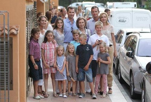 La Familia Real española unida y al completo en sus vacaciones de 2011
