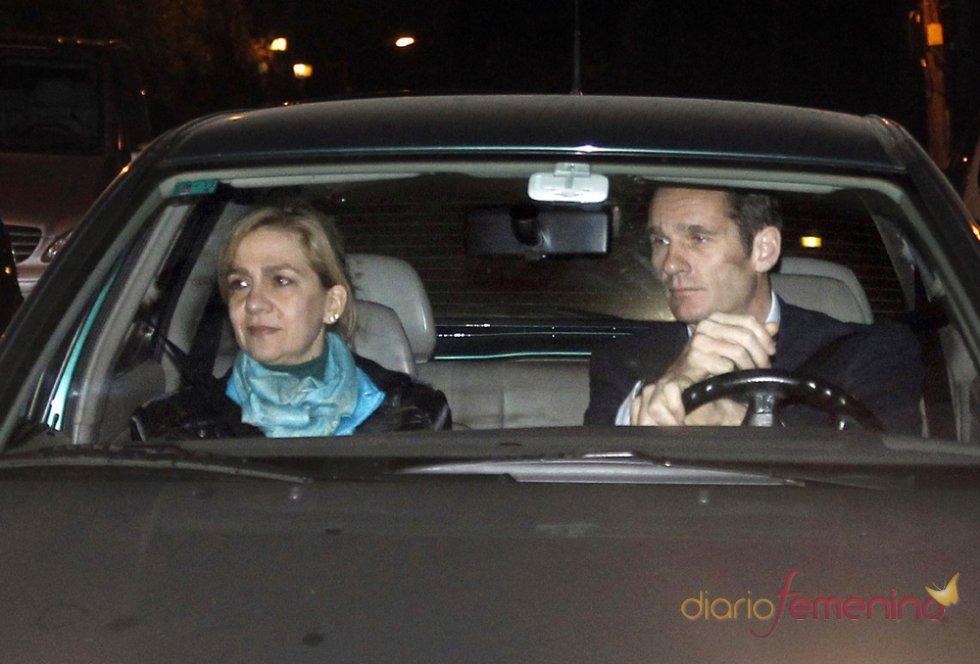 La infanta Cristina e Iñaki Urdangarín, su mayor crisis como pareja por el Caso Nóos
