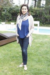 Luisa Martín en la presentación de la segunda temporada de 'Frágiles'