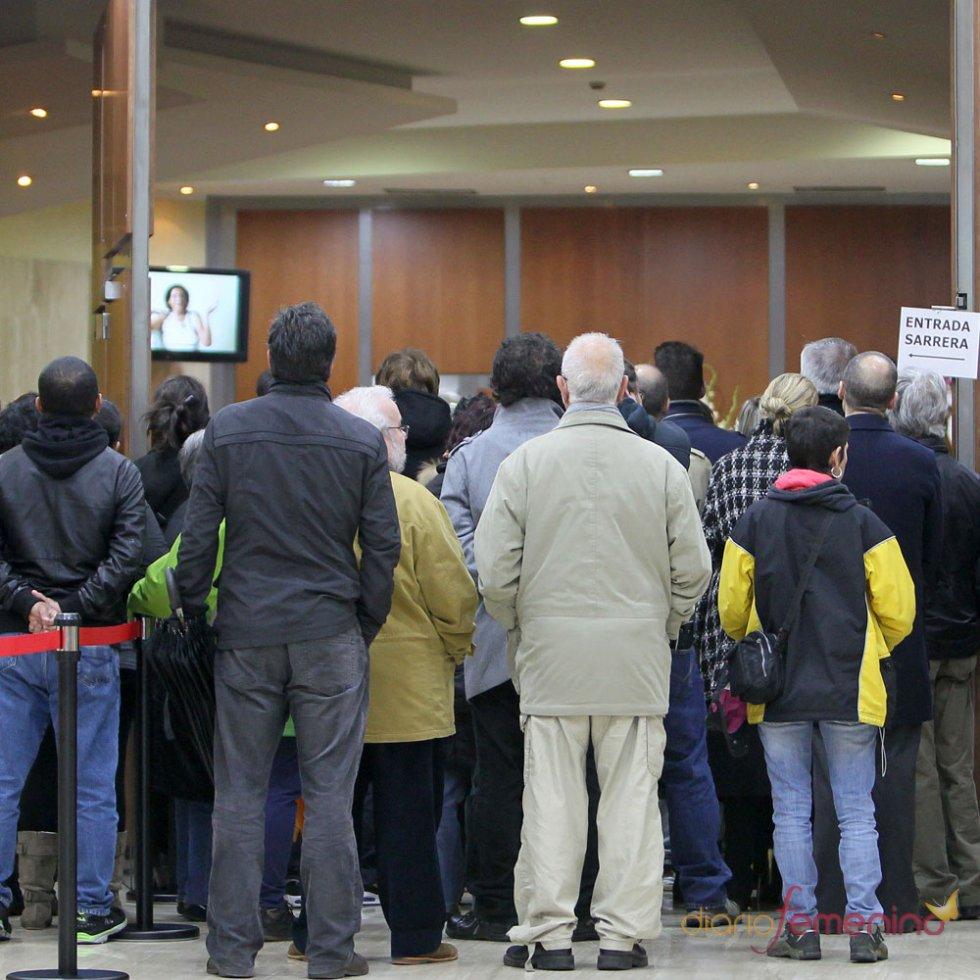 Funeral de Mariví Bilbao: el público llora su pérdida