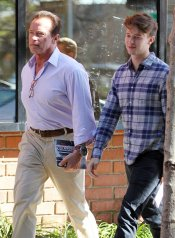El popular hijo de Arnold Schwarzenegger, Patrick Schwarzenegger