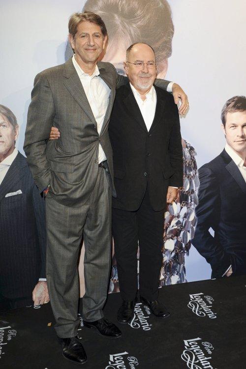 Bigas Luna con el actor Peter Coyote en el estreno de 'Didi Hollywood'