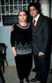 Sara Montiel junto a su último marido, Toni Hernández