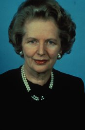 Margaret Thatcher, la dama de hierro británica