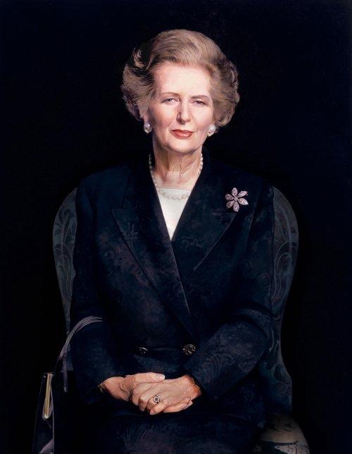 Retrato de Margaret Thatcher, la Dama de Hierro