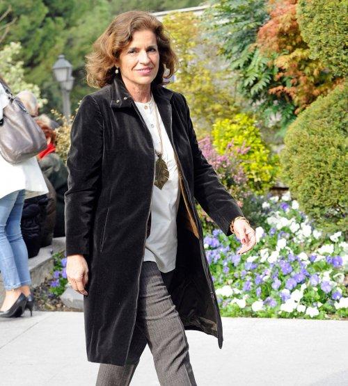 Funeral de Sara Montiel: Ana Botella, alcaldesa de Madrid