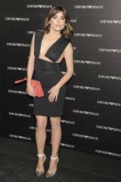 Adriana Ugarte en la inauguración de la tienda Emporio Armani de Madrid