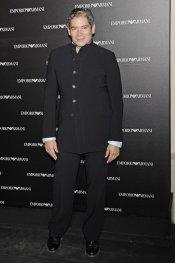 Boris Izaguirre en la inauguración de la tienda Emporio Armani en Madrid