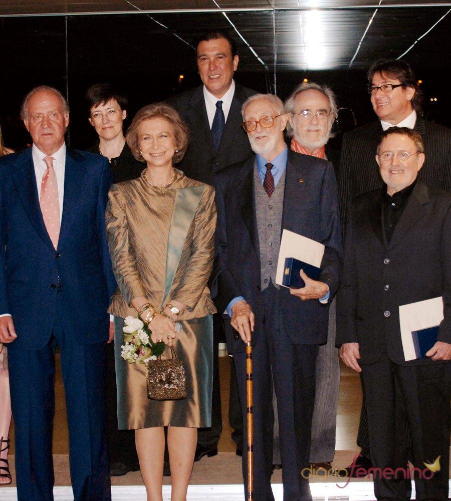José Luis Sampedro: el homenaje del Rey Juan Carlos