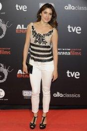 Adriana Ugarte en la presentación de 'Alacrán enamorado'