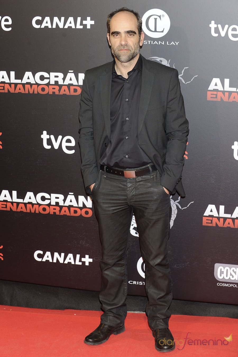 Luis Tosar durante la presentación de 'Alacrán enamorado'