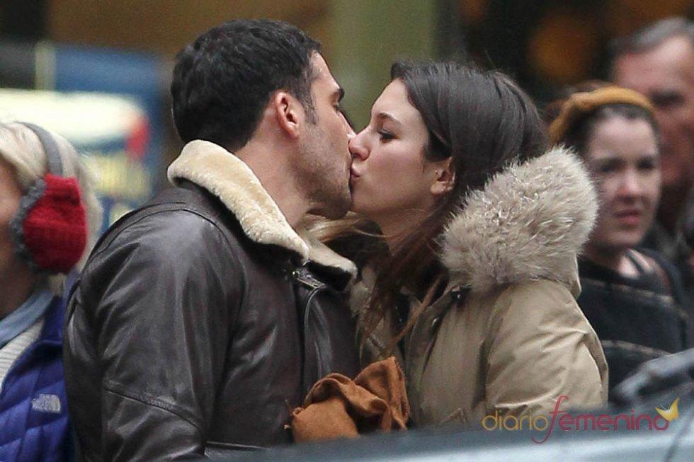 El beso neoyorquino de Blanca Suárez a Miguel Ángel Silvestre