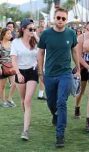 Kristen Stewart y Robert Pattinson al estilo hipster en el Festival Coachella 2013