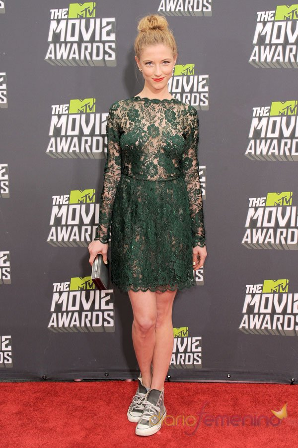 Caitlin Gerard en los MTV Movie Awards 2013