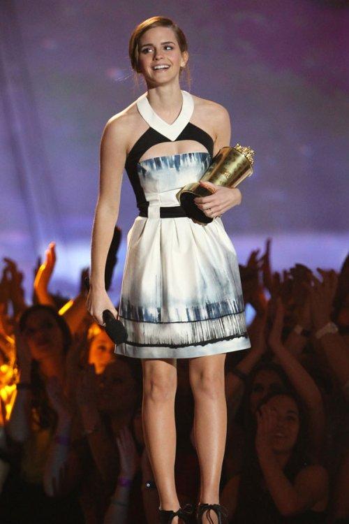 Emma Watson en los MTV Movie Awards 2013