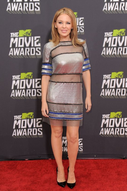 Kylie Minogue en los MTV Movie Awards 2013