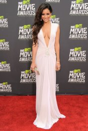 Melani Iglesias, el mayor escote de los MTV Movie Awards