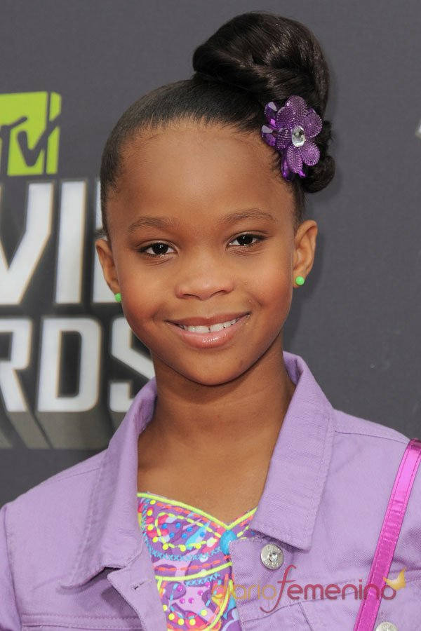 Quvenzhane Wallis, de los Oscar 2013 a los MTV Movie Awards 2013