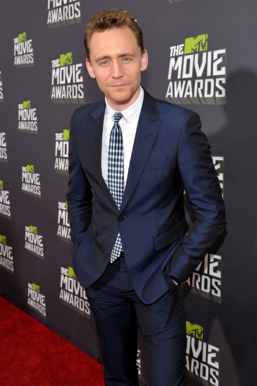 Tom Hiddleston en los MTV Movie Awards