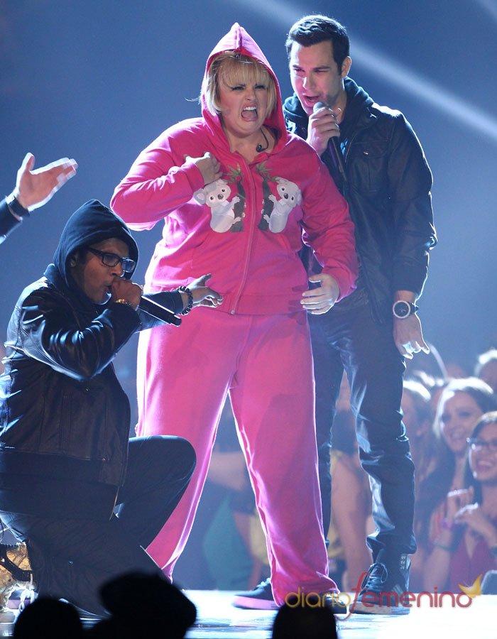 Rebel Wilson, provocación en los MTV Movie Awards 2013
