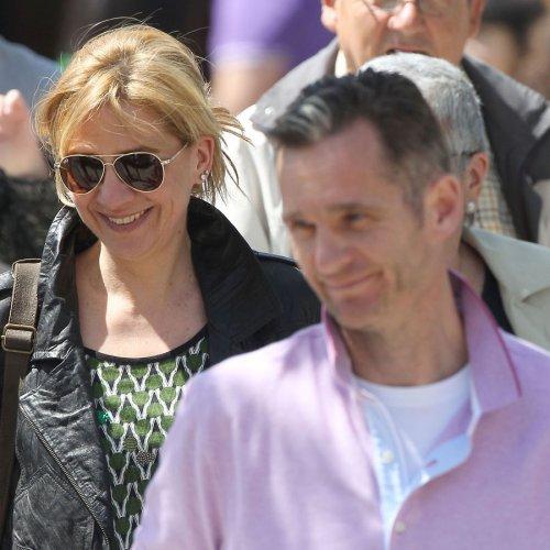 La Infanta Cristina y Urdangarin: sonrisa en la tragedia