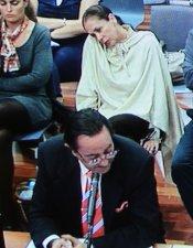 Isabel Pantoja, en el juicio del Caso Malaya junto a Julián Muñoz