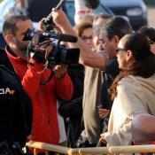 La última foto de Isabel Pantoja ante la cárcel