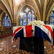 El féretro de Margaret Thatcher: un marco incomparable
