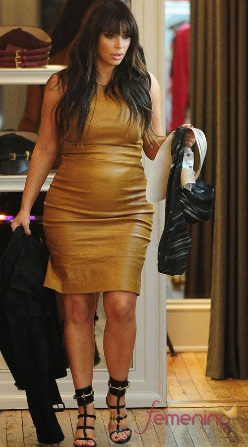 El vestido más sexy de Kim Kardashian embarazada