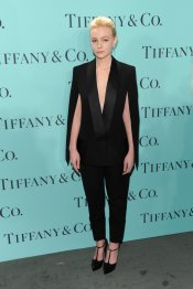 Carey Mulligan en la fiesta Blue Book Ball de Tiffany