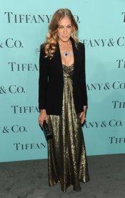 Sarah Jessica Parker en la fiesta Blue Book Ball de Tiffany