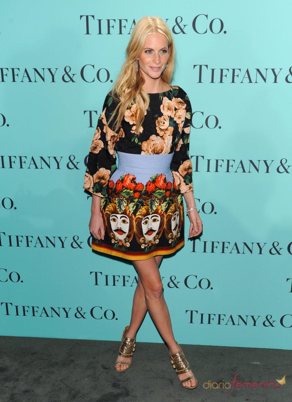 Poppy Delevigne en la fiesta Blue Book Ball de Tiffany