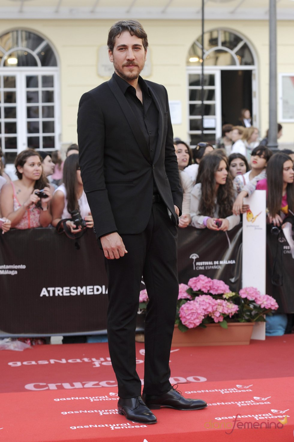 Alberto Ammann en el Festival de Málaga de Cine Español