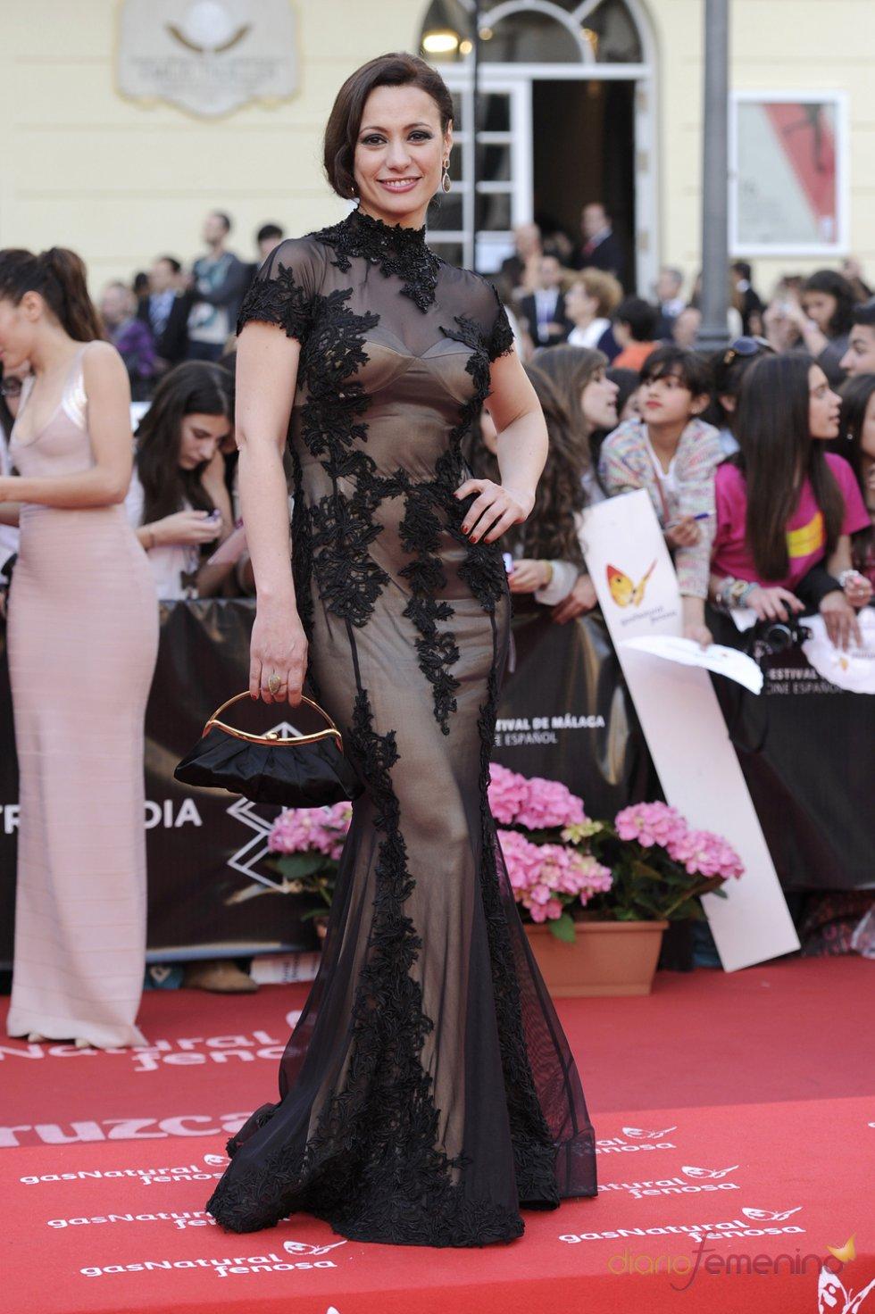 Natalia Verbeke en el Festival de Málaga de Cine Español